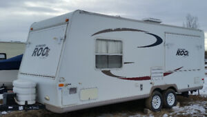 23 ft  Rockwood Hybrid trailer for sale