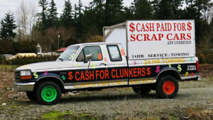 - $ CASH FOR CLUNKERS  $ -