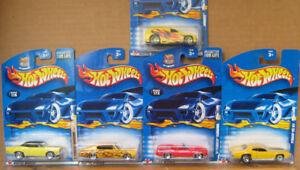 Five  Dodge , Chrysler ,  Mopar DieCast  Models  ,,  New
