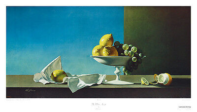 Al Proom The White Accent Poster Kunstdruck Bild 46x81cm