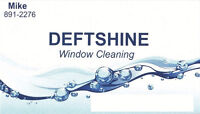 Professional Window Cleaning. DeftShine/Quality with best prices