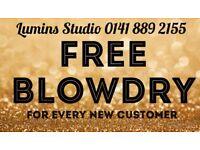 FREE BLOW-DRY