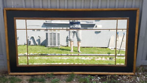 Solid wood mirror for sale!