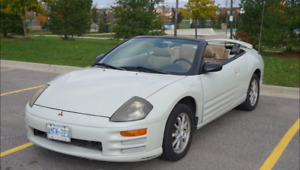 2001 Mitsubishi Eclipse GS Spyder Convertible