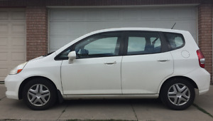 2008 Honda Fit LX Hatchback, 108,864KM , no accidents, as is