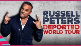 RUSSELL PETERS - Deported World Tour @ SSE Arena, London - Official Platinum Seats