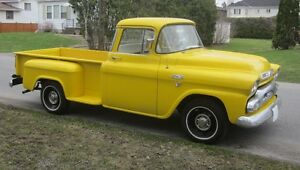 Rare 1959 GMC 100 Fully Factory-Optioned 1/2 Ton