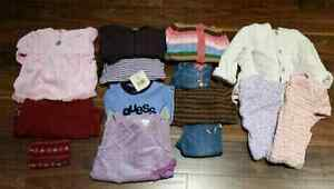 15 pc Girl's Size 12-18 months Lot