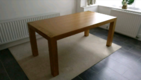 Solid wood dining table only £120 (no chairs)