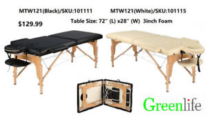 Portable Massage Beauty Tattoo Table bed with priced from 129.99