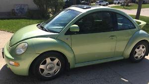 2000 Volkswagen New Beetle GLS Coupe (2 door)
