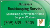 Bookkeeper for Home Support Services/ABA Therapists