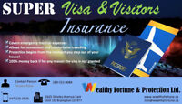 SUPER VISA AND VISITORS INSURANCE WITH BEST RATES