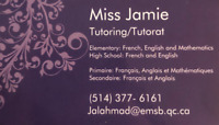 Rattrapage scolaire/Tutoring