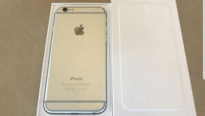 For sale - iPhone 6 Unlocked - 16GB Silver