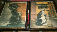 Sad Eyed Kitten pictures from 1960's - 2 diff. ready to display