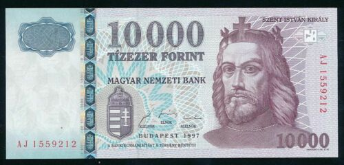 HUNGARY 10000 FORINT 1997  UNC RARE