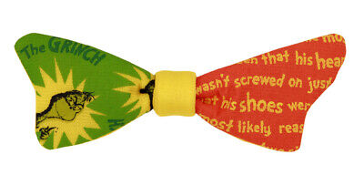 Dr. Seuss The Grinch Mismatched Bow Tie