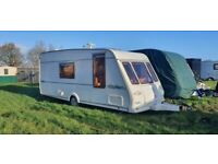 Bargain 2000 herald clermont 4 berth caravan excellent condition
