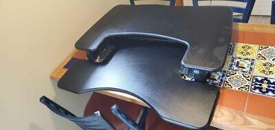 Varidesk Pro Plus 49900 36 Inch Adjustable Standing Desk - Black