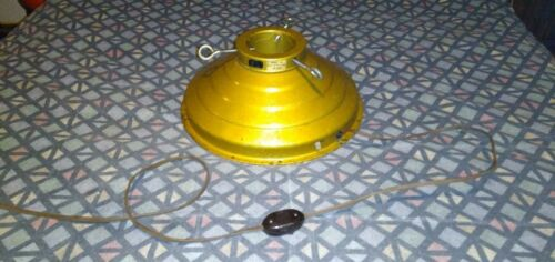 Vintage Revolving Musical Christmas Tree Stand Gold