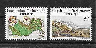 E916 LIECHTENSTEIN CEPT 1977 MINR 667 68