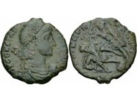 ROMAN COIN WITH CERT BRONZEPLUS ONE OTHER COIN ROMAN