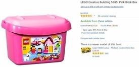 Lego Creator: 5585 - Pink Brick Box Girls