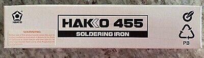 Hakko 455 455-16 45w Soldering Iron New Old Unsold Stock