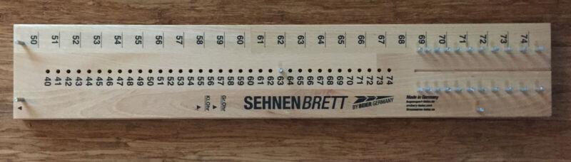 Sehnenbrett Splice Board for Traditional Flemish Bowstrings