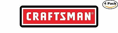 Craftsman Tools Tool Box Long Decal Diecut Sticker 4 Stickers