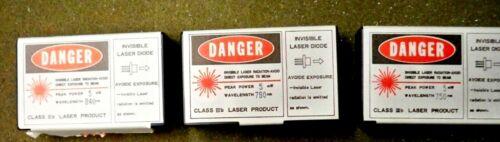 3 pcs. mini laser diodes