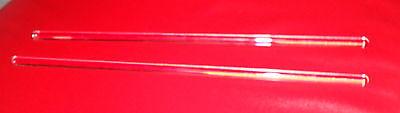 Lot Of 2 Glass Stir Rods- 8 X 316 - Sticks - Bar Mixing - Lab - Paint