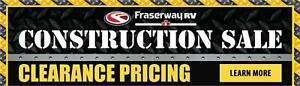 Fraserway RV Construction Sale
