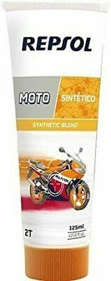 x10 tubos aceite repsol moto sintetico 2t 125ML