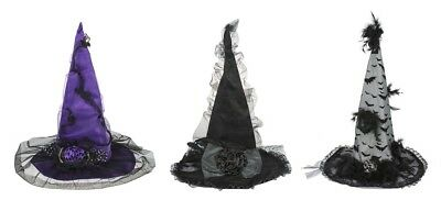 Ganz H8 Halloween Women's Costume Witch Hat 17x23in - Choose Design EH45681