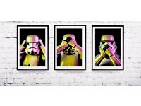 Limited Edition Storm Trooper Pop Art