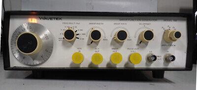 Wavetek Model 180 Sweepfunction Generator 0.1 Hz To 2 Mhz Ori