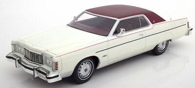 1976 Mercury Marquis 2-Door Hardtop Coupe White by BoS Models LE of 504 1/18 New 2 Door Hardtop Coupe