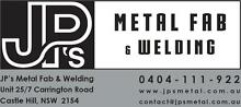JP's Metal Fab & Welding - FRAMES CAGES TROLLEY STRUCTURAL WELDER Castle Hill The Hills District Preview