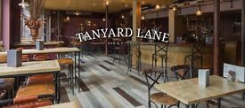 FOH Staff Wanted / Weekend and evening work - Tanyard Lane