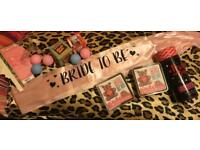 Bride to be sash and games