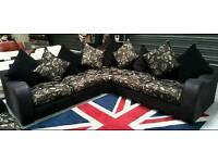 Large corner sofa + 2 seater sofa in vgc no marks can deliver