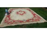 Beautiful Chinese woolen rug
