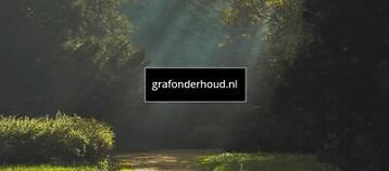 Grafonderhoud grafreiniging grafverzorging in heel Nederland