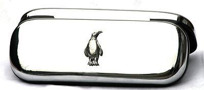 Penguin Case & Pen Ball Point Box Set Antarctic Bird Nature Gift FREE ENGRAVING