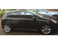 Vauxhall Corsa 1.2 SXI, AC, 2010, Black, 5dr very good condition, very low mileage, service history