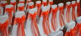 Chair Cover Hire / Rent For Wedding, Engagement, Mehendi, Birthday, Christening, or function / event