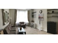 NO AGENT'S FEE, ONE BEDROOM FLAT with private garden, opposite park, tennis courts