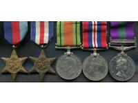 Medals and millitary badges wanted for cash